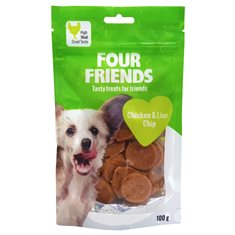 FourFriends Dog Chicken & Liver Chip