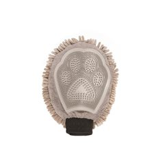 Dog Gone Smart Dirty Dog Grooming Mitt, Grey