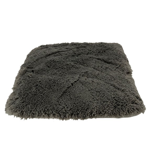 Dogman Dog Pillow Shaggy grey