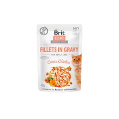Brit Care Cat Pouch Fillets Gravy Chicken