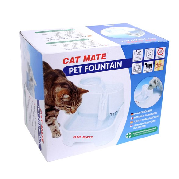 Cat Mate Vattenautmat Pet Fountain