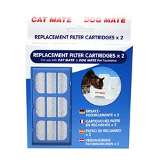 Cat Mate Filter Vattenautomat Cat Mate 2-p