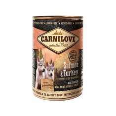 Carnilove Dog Puppy Salmon & Turkey Burk