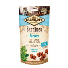 Carnilove Cat Semi Moist Snack Sardine & Parsley