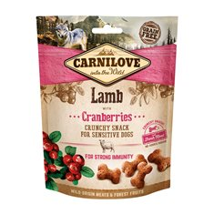 Carnilove Dog Crunchy Snack Lamb & Cranberries