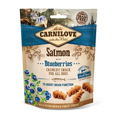 Carnilove Dog Crunchy Snack Salmon & Blueberries