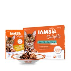 Iams Delights gravy Land