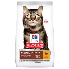 Hill's Sience Plan Feline Mature Hairball Indoor