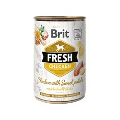 Brit Fresh Cans Chicken with Sweet Potato