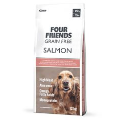 Four Friends Dog Grain Free Salmon