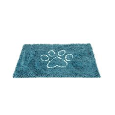 Dirty Dog Gone Smart Dirty Dog Doormat Pacific Blå